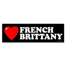 FRENCH BRITTANY Bumper Bumper Sticker