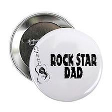 "Rock Star Dad 2.25"" Button (10 pack)"