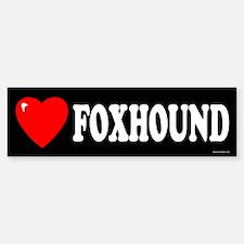 FOXHOUND Bumper Car Car Sticker
