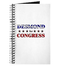 DESMOND for congress Journal