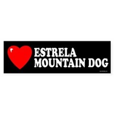 ESTRELA MOUNTAIN DOG Bumper Bumper Sticker