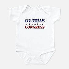 DESIRAE for congress Onesie