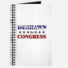 DESHAWN for congress Journal