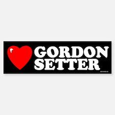 GORDON SETTER Bumper Bumper Bumper Sticker