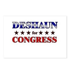 DESHAUN for congress Postcards (Package of 8)