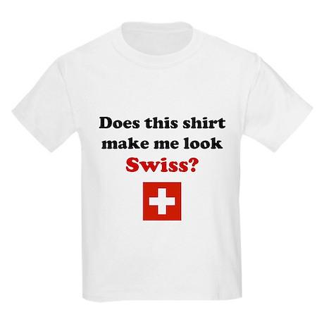 Make Me Look Swiss Kids Light T-Shirt
