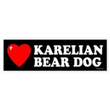 KARELIAN BEAR DOG Bumper Bumper Sticker