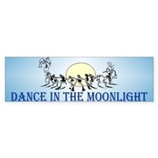 Moonlight Dance Bumper Bumper Sticker