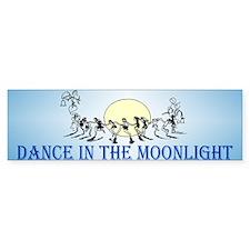 Moonlight Dance Bumper Bumper Sticker