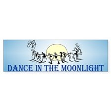 Moonlight Dance Bumper Car Sticker