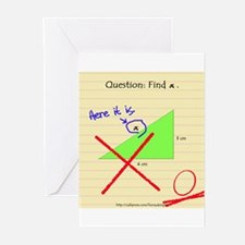 """Find x"" Greeting Cards (Pk of 10)"