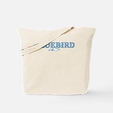 Bluebird Records Tote Bag