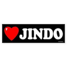 JINDO Bumper Bumper Sticker
