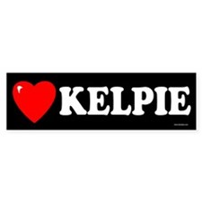 KELPIE Bumper Bumper Sticker