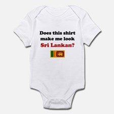 Make Me Look Sri Lankan Infant Bodysuit