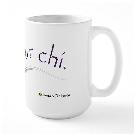 Free Your Chi Large Mug