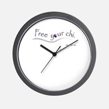 Free Your Chi Wall Clock