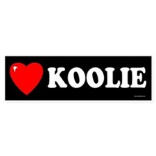 KOOLIE Bumper Bumper Sticker