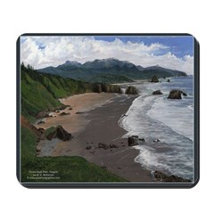 Ecola State Park Scenic Mousepad
