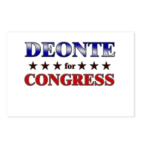 DEONTE for congress Postcards (Package of 8)