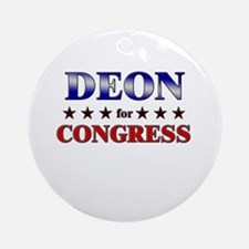 DEON for congress Ornament (Round)
