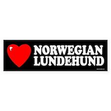 NORWEGIAN LUNDEHUND Bumper Bumper Sticker