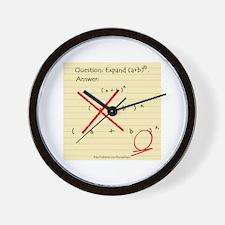 """Expand (a+b)n"" Wall Clock"