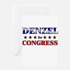 DENZEL for congress Greeting Card