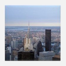 View fr Empire State Building Tile Coaster