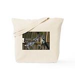 Giraffe Baby Mama Kiss Tote Bag