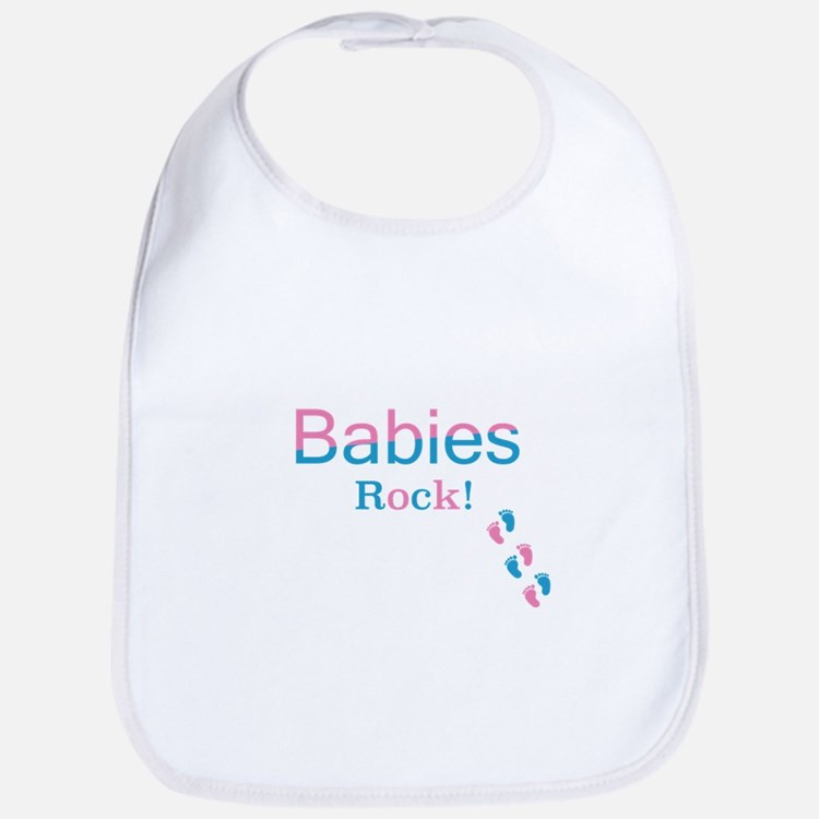 Babies Rock! Bib