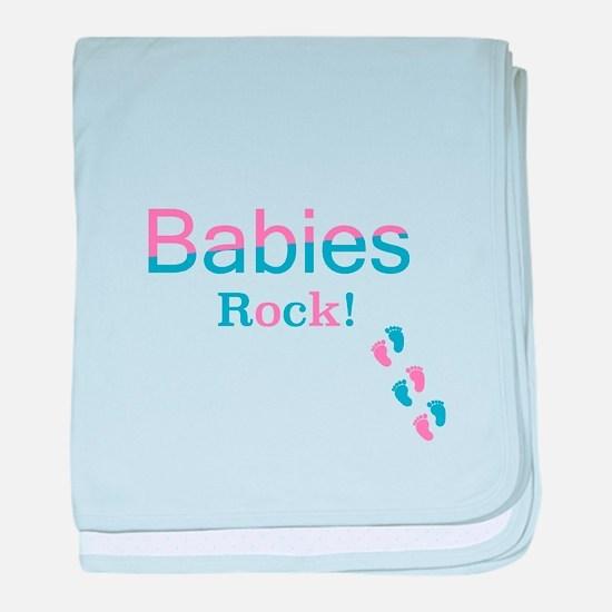 Babies Rock! baby blanket