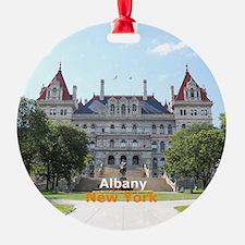 Albany New York Round Ornament