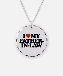 I LOVE MY FATHER-IN-LAW Necklace