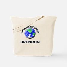World's Okayest Brendon Tote Bag