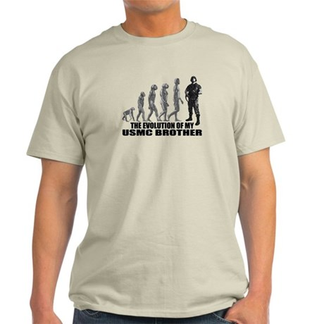 Evolution - My USMC Bro Light T-Shirt