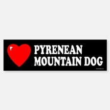 PYRENEAN MOUNTAIN DOG Bumper Bumper Bumper Sticker