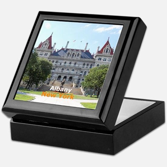 Albany New York Keepsake Box