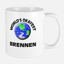 World's Okayest Brennen Mugs