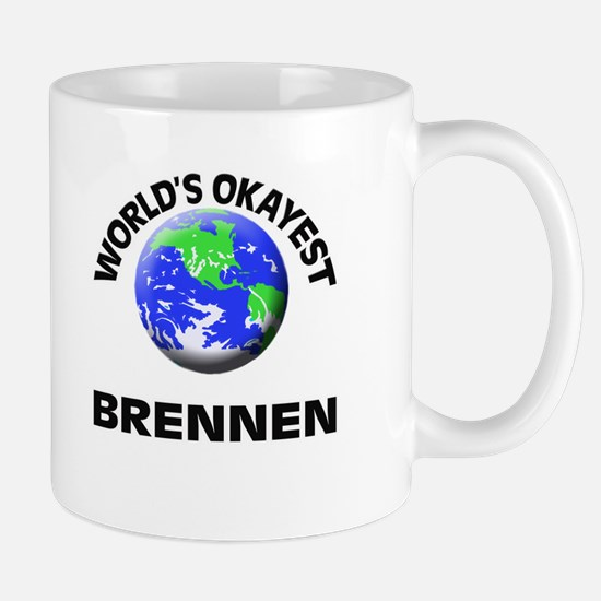 World's Okayest Brennen Mugs