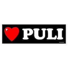 PULI Bumper Bumper Sticker