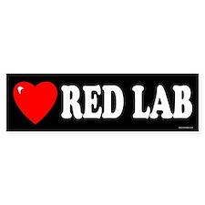 RED LAB Bumper Bumper Sticker