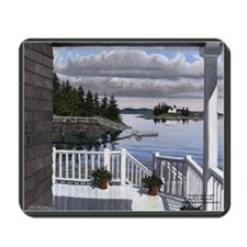 Pumpkin Island Lighthouse Scenic Mousepad