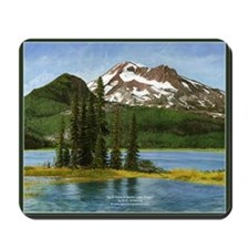 South Sister and Sparks Lake Scenic Mousepad