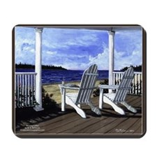 Moring Coffee Scenic Mousepad