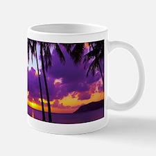 Purple Tropical Sunset 3 Mug
