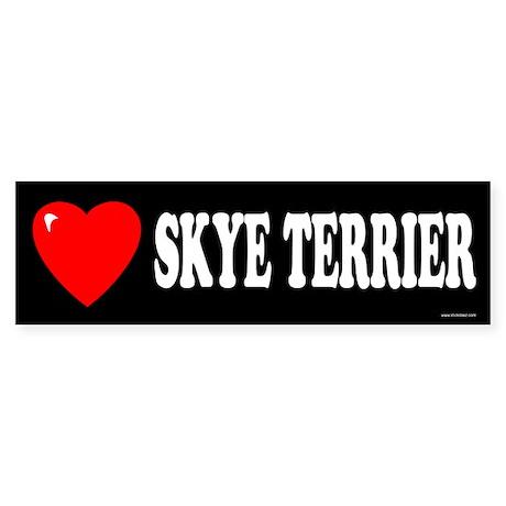 SKYE TERRIER Bumper Sticker
