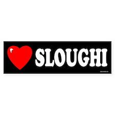 SLOUGHI Bumper Bumper Sticker