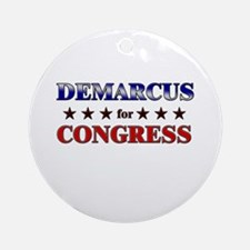 DEMARCUS for congress Ornament (Round)