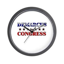 DEMARCUS for congress Wall Clock
